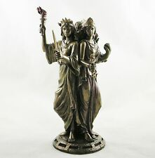 Hekate Figure Goddess of Magic Triple Figurine Greek Goddess Hecate Statue NEW
