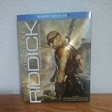 Riddick The Complete Collection (Blu-ray-No Digital) Slipcover Sci-fi Movie Set