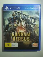 Gundam Versus Sony PS4 PAL
