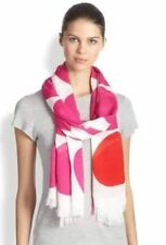 NWT Authentic Kate Spade Bougainvillea Pink Six Month Dot Viscose Scarf WJRU2040