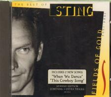 Sting(CD Album)Fields Of Gold-VG