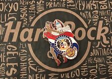 Hard Rock Cafe HRC ST. LOUIS FLAG GIRL Lapel Pin Limited Edition