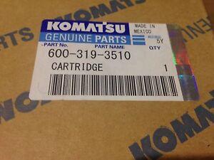 600-319-3510 P502381 Genuine  Komatsu fuel filter