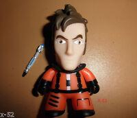 DOCTOR WHO TITANS vinyl Figure TENNANT ORANGE space suit sonic screwdriver toy