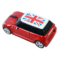 Red Wireless Mouse Game optical Mice Car Mini Cooper for Laptop PC USB led gift