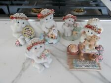 Lot of 5 Dreamsicles Figurines Cherub Angels plus the white Angel