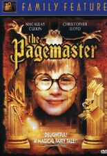 The Pagemaster (Macaulay Culkin Christopher Lloyd) Region 1 New DVD