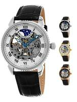 Stuhrling 835 Special Reserve Automatic Self Wind Skeleton Dress Luxury Watch