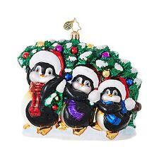 Christopher Radko TRIMMING THE TREE Christmas Ornament 1018687 NEW