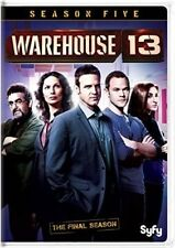 Warehouse 13: Season Five [New DVD] 2 Pack, Repackaged, Snap Case