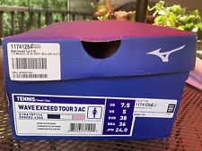 Mizuno Wave Exceed Tour 3 Ac Women's Tennis Shoes Size 7.5 Brand New in Box