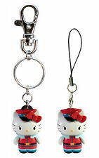 *NEW* Hello Kitty x Street Fighter: M. Bison Key Chain / Mobile Charm by Toynami