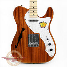 Brand New Fender Squier Classic Vibe Thinline Telecaster Electric Guitar Natural