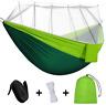 Camping Hammocks Mosquito Net Outdoor Hammock Travel Bed Lightweight Parachute