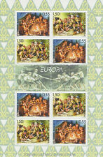 Europa CEPT 2007 BOY SCOUT SCOUTS-Bulgaria Bulgaria 4792-93 piccoli archi **