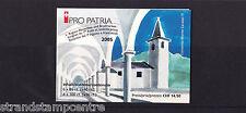 Switzerland (Pro Patria) - 2005 Pro Patria Booklet - U/M - SG 1639x6 + 1640x4