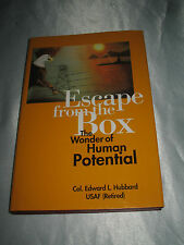 Escape from the Box Wonder Human Potential by Edward L Hubbard SIGNED 2008 HCDJ