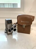 Vintage Bell & Howell 333 8MM Film Movie Camera Tested And Working