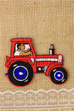 tractor Dly Clothes pants hat Iron on Embroidered Badge Applique Patches U183