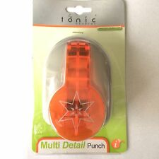 Tonic Studios Multi Detail Lever Punch - Star - 927A - NEW