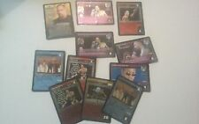 The Rock WWE Raw Deal 11 card lot with character card 5 premium rare cards