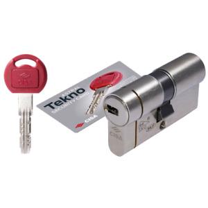 Cisa OM 3T1 cilindro di sicurezza Astral Tekno Pro mm 30.30 in ottone 3 chiavi