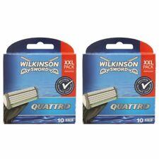 20 Wilkinson Sword Quattro Plus 2 x 10 Klingen Ersatzklingen NEU OVP