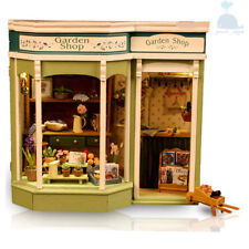 DIY Handcraft Miniature Dolls House The 19th Century Amsterdam Florist Shop
