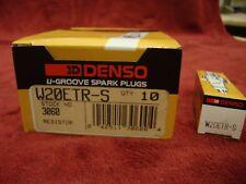 10 DENSO W20ETR-S ND 3060 Spark Plug (Autolite 403  63, NGK  BPR6EK, Bosch WR6DC