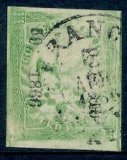 az03 Mexico #24 t-5 4R Eagle, Mexico 59.1866 800 sent Est $60-100 Nice stamp