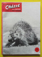 Les Cahiers de Chasse 25 1956 caille battue chamois Portugal brocards chien