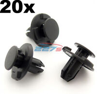 20x 8mm Hole, Wheel Arch Liner Clips, Plastic Trim Clips for Inner Wing- Subaru