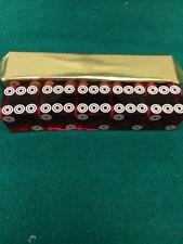 19 mm Dark Red Double Ring Casino Dice