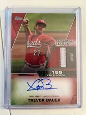 2021 Topps Series 2 - Trevor Bauer Significant Statistics - Patch/Auto 1/25