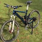 Cube Sting HPC Carbon Fully Mountainbike, Lenker/Rahmen/Sattelstütze aus Carbon