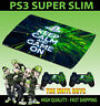 PLAYSTATION PS3 SUPER SLIM KEEP CALM AND GAME ON SKIN STICKER & 2 PAD SKIN