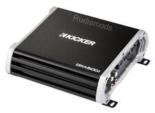 Kicker DXA5001 Monoblock Class D Subwoofer Amplifier 500w RMS at 2ohm
