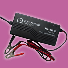 Q-Batteries Akku Ladegerät BL 12-5 Bleiakkus 12V-5A Ladestrom IUoU Ladekennlinie