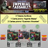 STAR WARS IMPERIAL ASSAULT 2017 T4 ESPAÑOL KIT-Agente Blaise, Wookiee + 3 Tokens