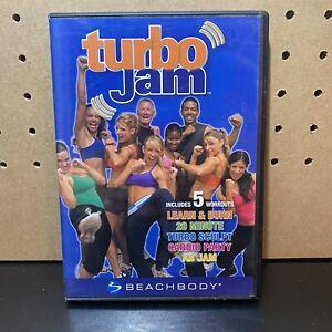 Turbo Jam 5 Rockin' Workouts Beach Body 2 DVD Set Exercise Fitness Sculpting