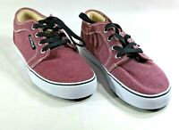 AIRWALK Mens Size 7 Sneakers Canvas Skate Shoes Purple Lace up Low top Casual
