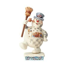Jim Shore Christmas: Snowman; Frosty the Snowman; Marching Frosty w/Parade Scene