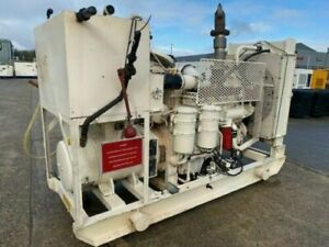 Cummins 125kVA Skid Mounted Open Set. Standby Hours Only.