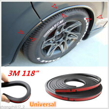 Universal 118'' Car Fender Flares Extension Wheel Eyebrow Protector Lip Moulding