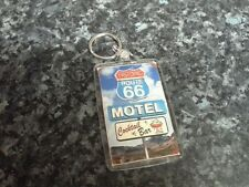 Route 66 Motel Sign Jumbo Keyring NEW. Americana, USA