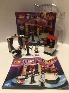 Lego friends set 41001 100% Complete box instructions 2013 Mia's magic tricks EX