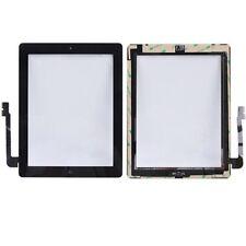 écran tactile Digitizer verre affichage Noir Apple iPad 4 BOUTON HOME outil