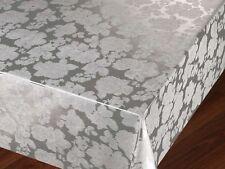 Wipe Clean Tablecloth Vinyl PVC 140cm x 200 cm new