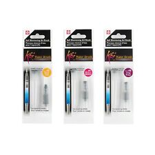 Sakura Koi Water Art Brush Pen 4ml Tank | Small Medium Large Tip Travel | PK 3