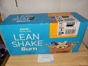 (12) Count Lot Of GNC Lean Shake Burn Vanilla Latte Flavor 14 Oz Each